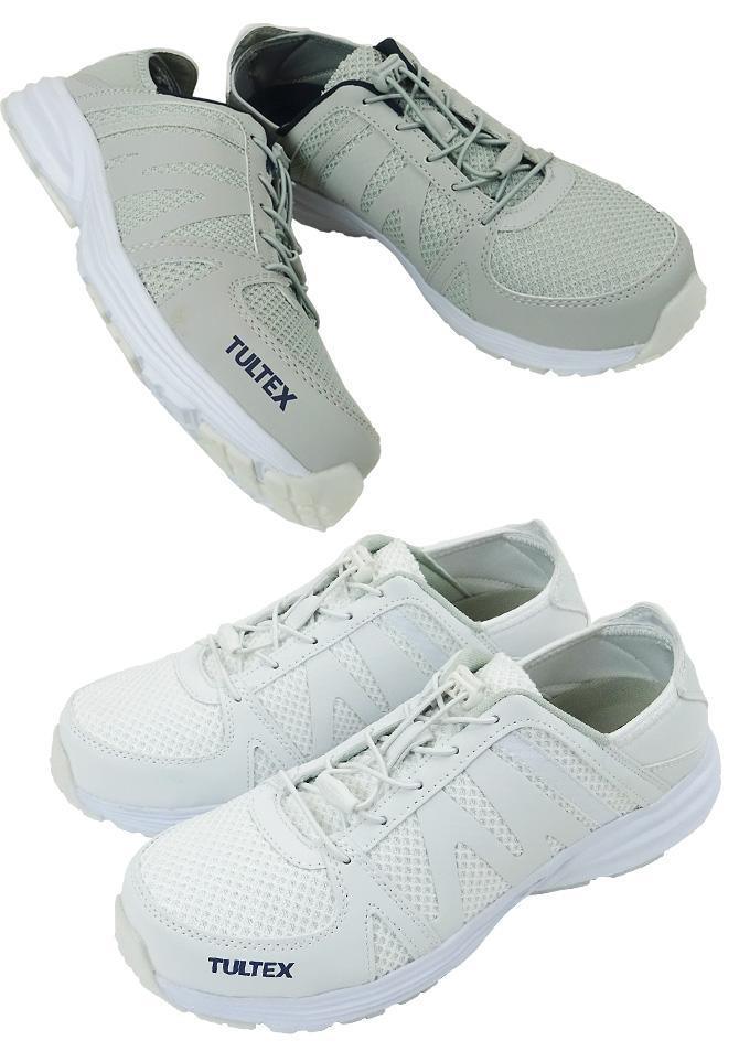 安全靴 スニーカー タルテックス TULTEX AZ-51660 ローカット 紐タイプ メンズ レディース 男女兼用 軽量 樹脂先芯 クッション性 セーフティーシューズ 作業靴 おしゃれ 24.5-28.0cm アイトス AITOZ