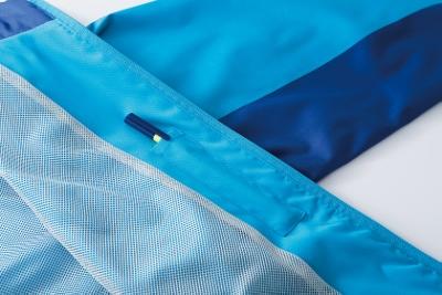 クロダルマ/32130/ウインドブレーカー/ブルー・ライム・シルバー/3色