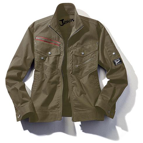 自重堂 Jichodo 52100 Jawin 作業服 オールシーズン 長袖ジャンパー ブルゾン 制電 消臭抗菌