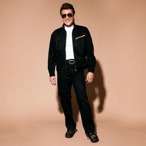 自重堂 Jichodo 51902 Jawin 作業服 オールシーズン 綿100% 作業ズボン カーゴパンツ 消臭抗菌
