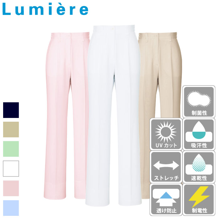 [Lumiere] 862008 レディースシャーリングパンツ