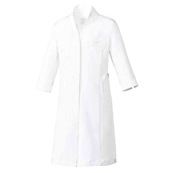 [ミッシェルクラン] MK0048 ドクターコート(七分袖)[女]