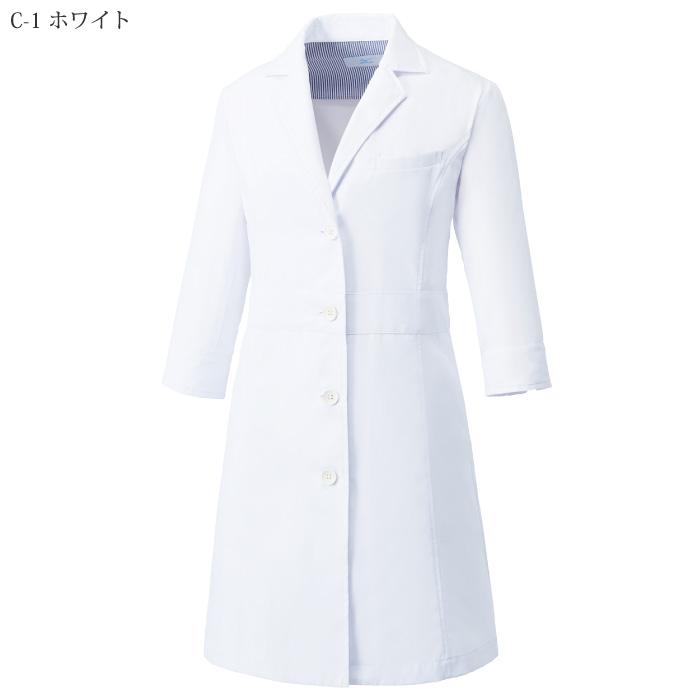 [ミズノ] MZ0057 ドクターコート七分袖(女)