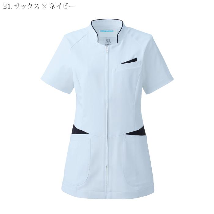 [KAZEN] 054 レディスジャケット半袖