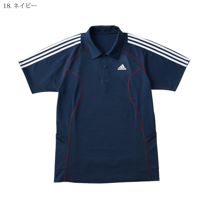 [アディダス] SCS731 ポロシャツ(男女兼用)