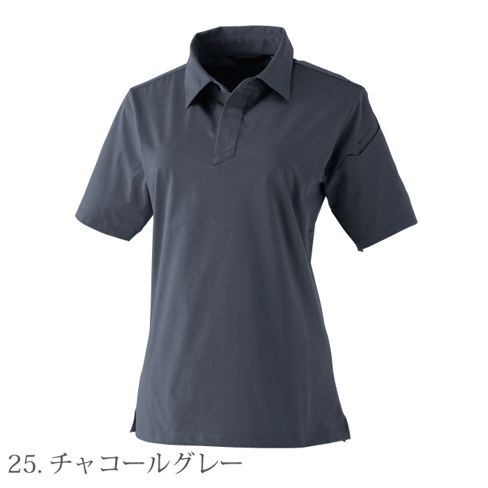 [TS Design] 910551 TS 4D レディースショートポロシャツ