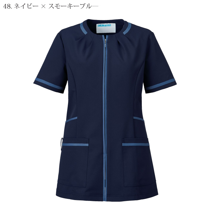 [KAZEN] 780 レディスジャケット半袖