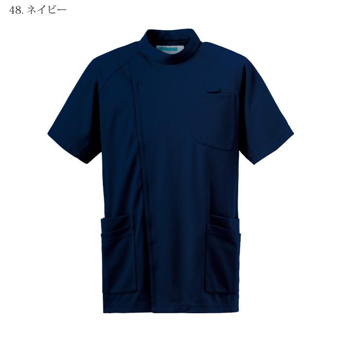 [KAZEN] 982 メンズジャケット半袖