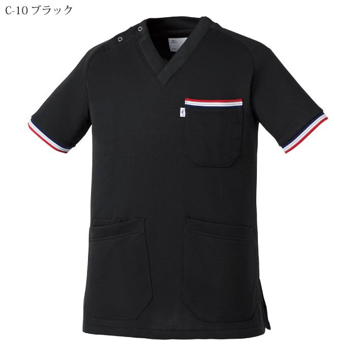 [ミズノ] MZ0110 ニットスクラブ(兼用)