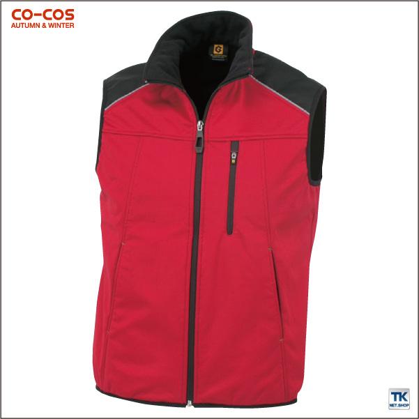 防風ストレッチベスト 作業ベスト 作業服 作業着 秋冬用素材 チョッキ スタイリッシュワーク CO-COS コーコス ベスト cc-g2249