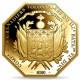 2020 フランス アメリカ独立の歴史 ラファイエット侯爵のボストン上陸 200ユーロ 八角形金貨 1オンス プルーフ NGC PF 69 UC ER 初鋳版 準最高鑑定 完全未使用品 元箱付