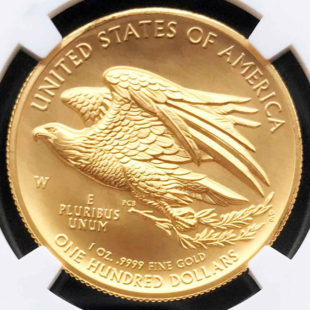 2015 アメリカ ハイレリーフ 自由の女神 リバティ 100ドル 金貨 NGC MS70 ER 初鋳版 最高鑑定