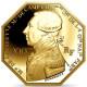 最後の1枚 2020 フランス アメリカ独立の歴史 ラファイエット侯爵のボストン上陸 200ユーロ 八角形金貨 1オンス プルーフ NGC PF 70 UC ER 初鋳版 最高鑑定 完全未使用品 元箱付