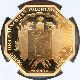 2020 フランス アメリカ独立の歴史 ラファイエット侯爵のボストン上陸 200ユーロ 八角形金貨 1オンス プルーフ NGC PF 70 UC ER 初鋳版 最高鑑定 完全未使用品 元箱付