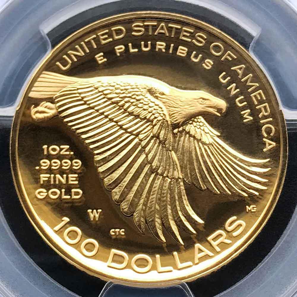 2017 アメリカ ハイレリーフ 自由の女神 225周年 金貨 1オンス プルーフ PCGS PR70 DCAM FS 初鋳版 最高鑑定 完全未使用品 2019 ベスト·ゴールド·コイン
