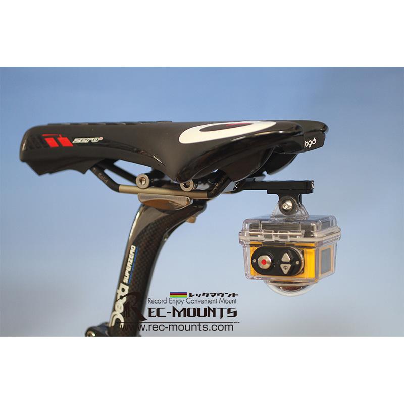 レックマウント REC-B030-KO コダック 360°アクションカメラ SP360対応 サドルレールマウント Type2