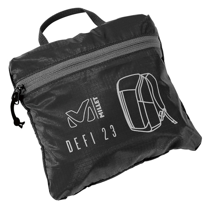 ミレー DEFI 23 ブラック パッカブルバックパック