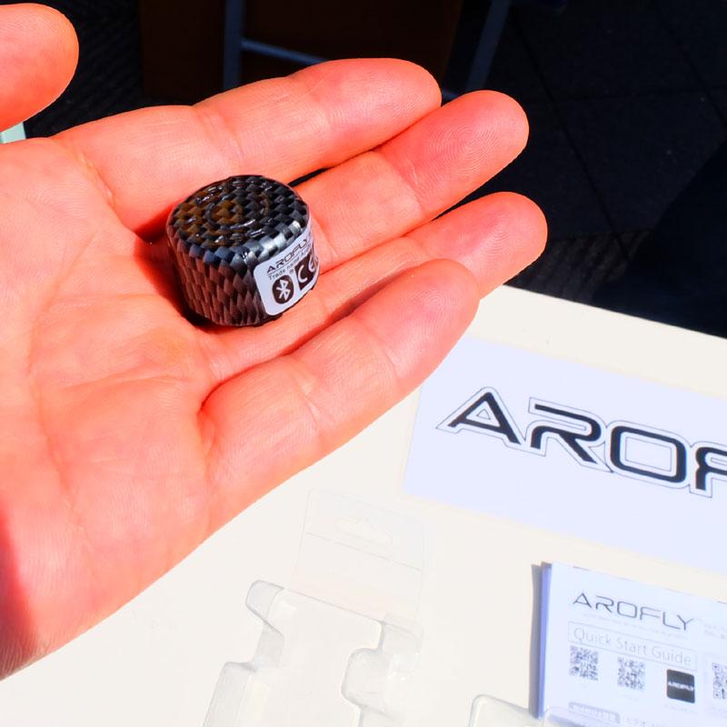 【特急】AROFLY Ultra Smart Bike Meter Solution バルブキャップ型パワーメーター ブルートゥース対応