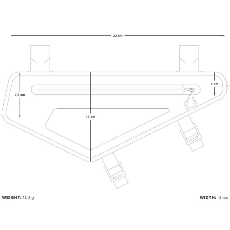 アピデュラ バックカントリー フレームパック 2L