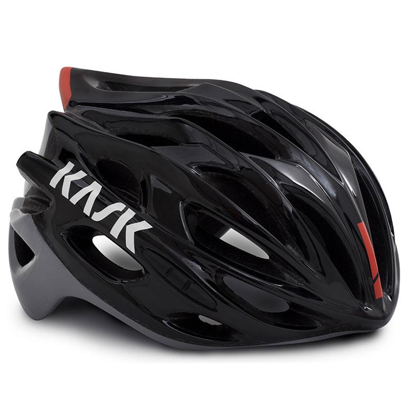 KASK MOJITO X ブラック/アッシュ/レッド ヘルメット
