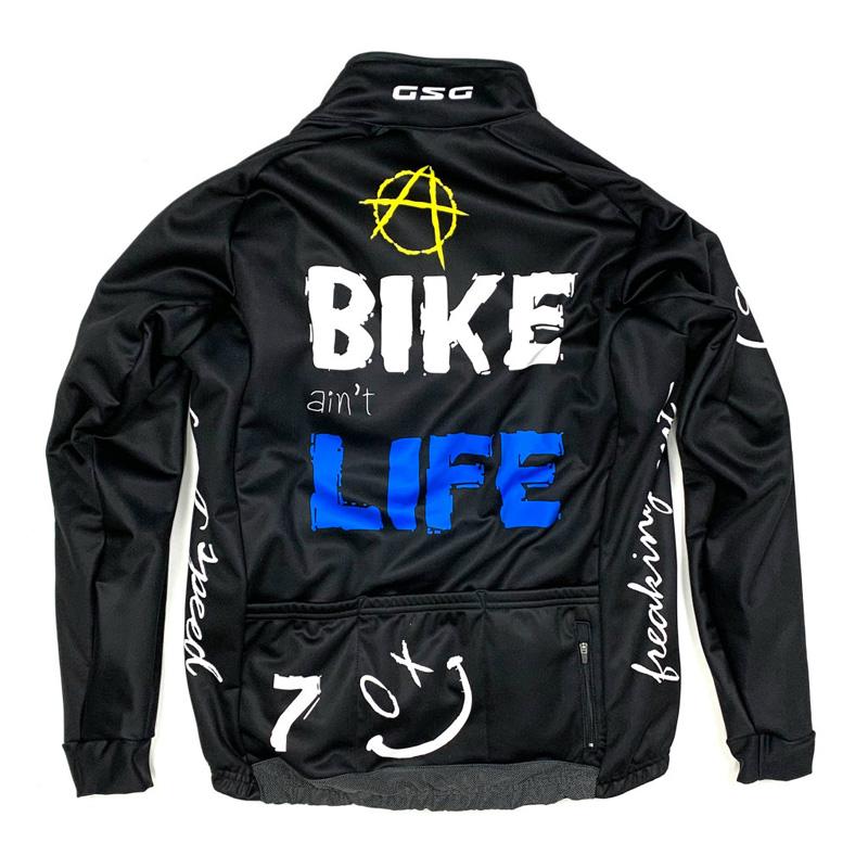 セブンイタリア Rock Smile 2020 Jacket パンクブラック