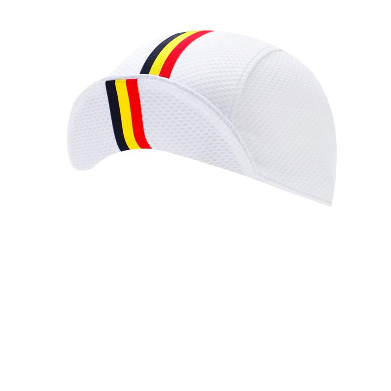 リオン・ド・カペルミュール サイクルキャップ ソフトバイザー ベルギーライン ホワイト