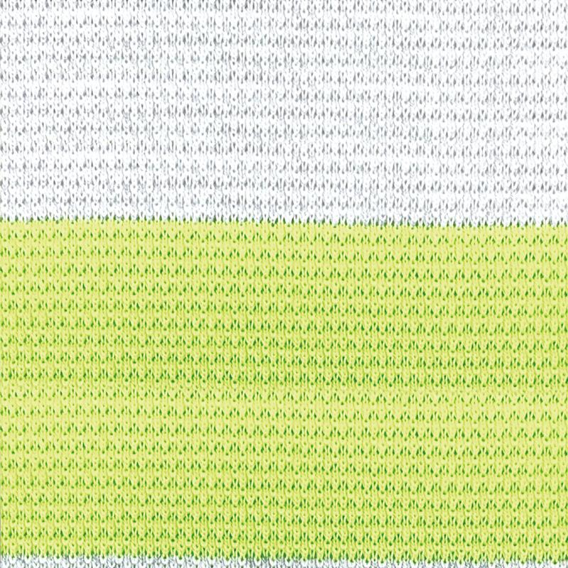 カペルミュール 半袖ジャージ 鹿の子マリンボーダー オリーブ