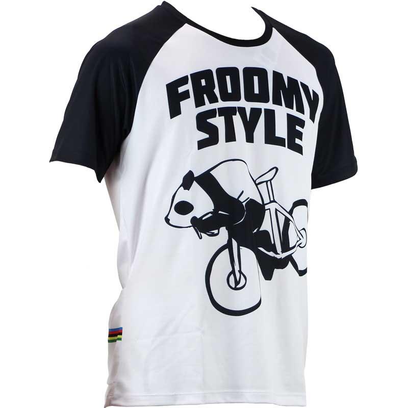 【代引不可】R250 GORIDE 3バックポケット付きTシャツ フルーミーパンダ アルカンシェル 20210511