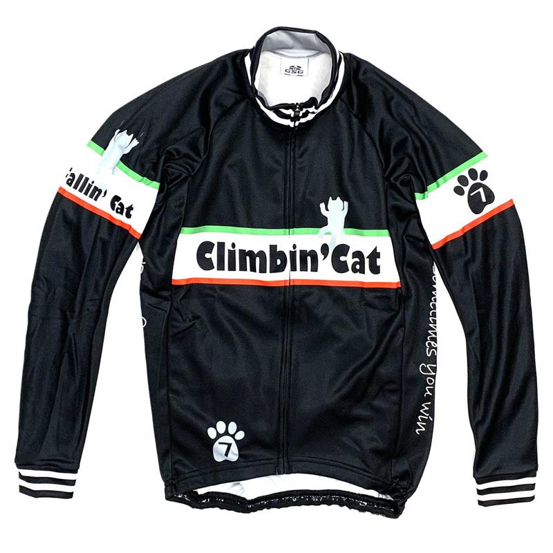 セブンイタリア Fallin' Cat LS Jersey ブラック