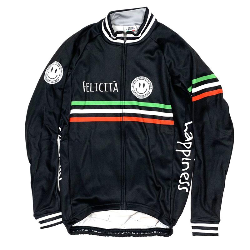 セブンイタリア Classic Smile LS Jersey ブラック