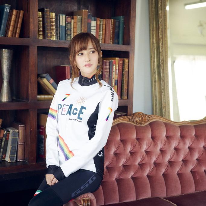 セブンイタリア Peace Sunny Day Lady Jacket ホワイト レディース