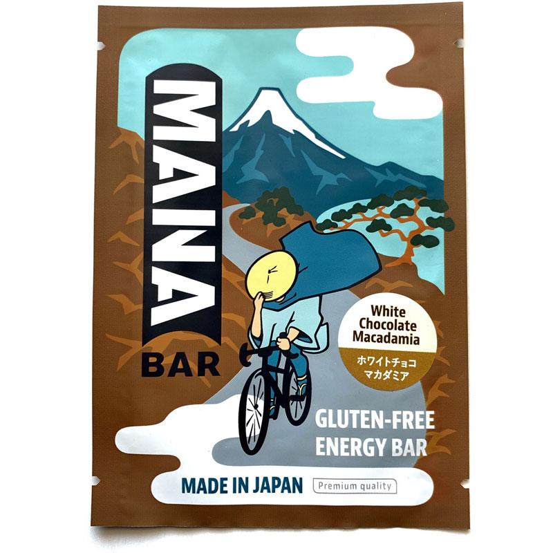 【特急】【M便】マナバー ホワイトチョコレートマカダミア味 1本