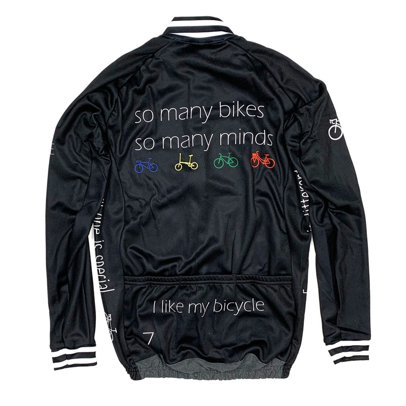 セブンイタリア So Many Bikes LS Jersey ブラック