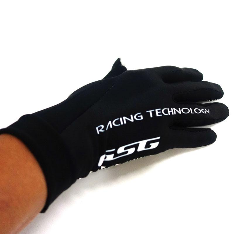 セブンイタリア Neo Retro Mid Gloves ブラック/ホワイト タッチパネル対応