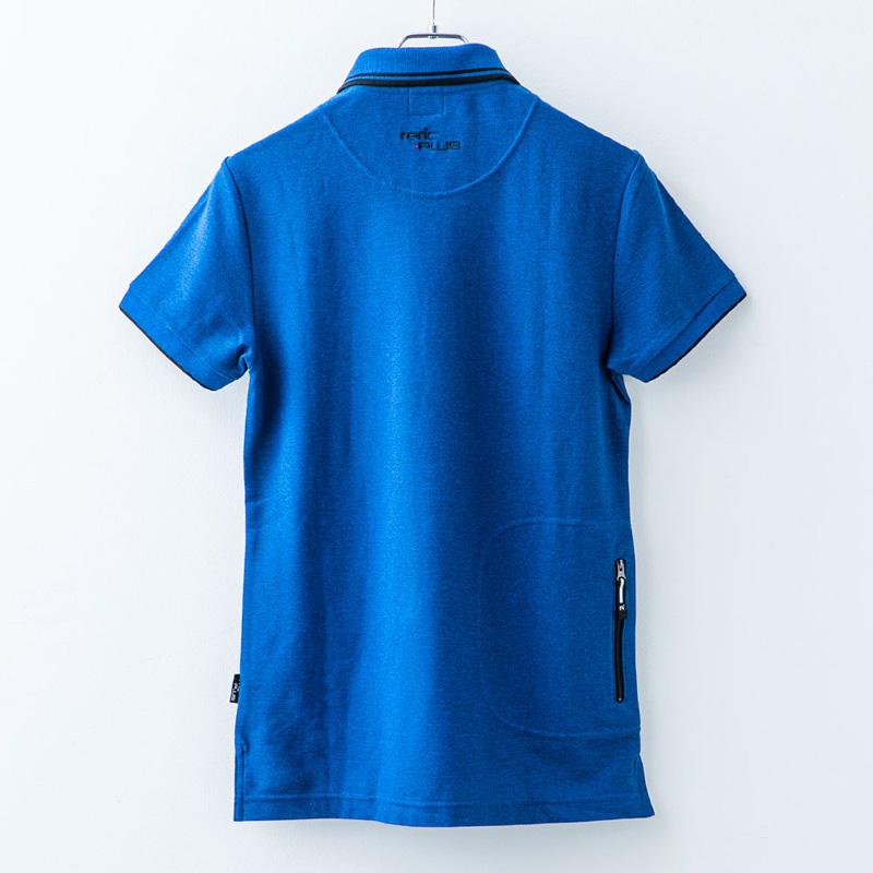 レリック プラス  ポロシャツ ネイビー