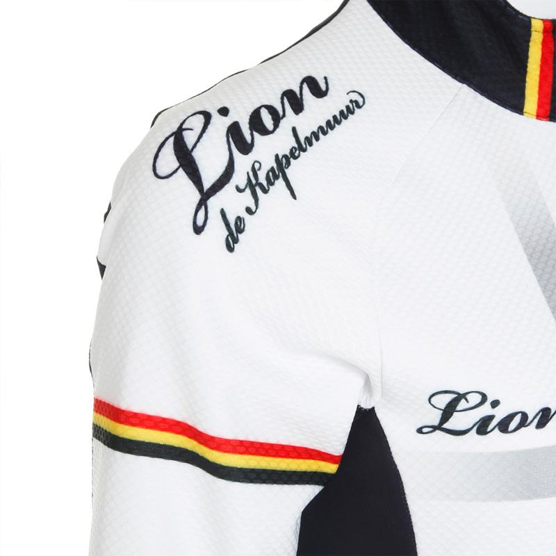 リオン・ド・カペルミュール コンペティションジャケットEVO3 クロスプリント ホワイト レディース