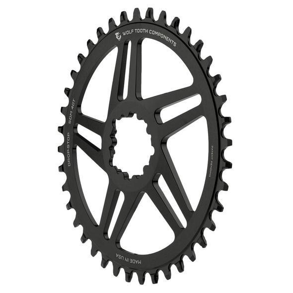 ウルフトゥース SRAM ダイレクトマウント Boost用ワイド/ナロー チェーンリング 3mmオフセット Drop-Stop A
