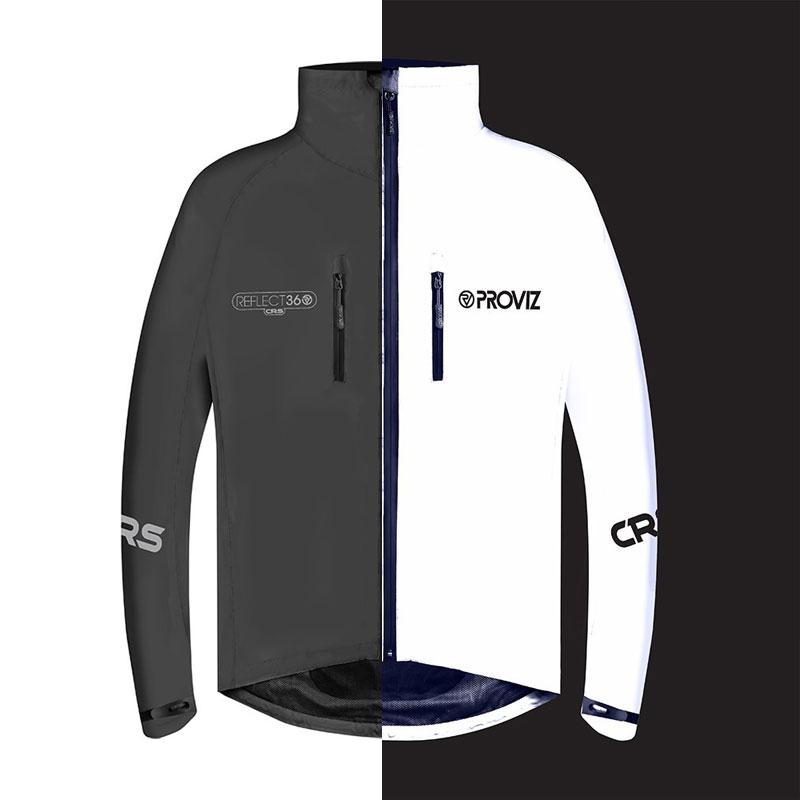 プロビズ REFLECT360-CRS  全面リフレクター ジャケット ブラック