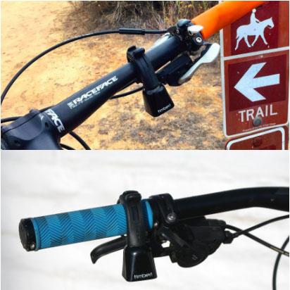 Timber Mountain Bike Bell(マウンテンバイクベル) Oリングモデル ハンドルマウント型 消音機能付カウベル