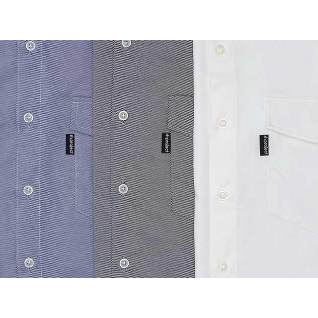 リンプロジェクト 【2164】 ノースウェットBIZシャツ ホワイト