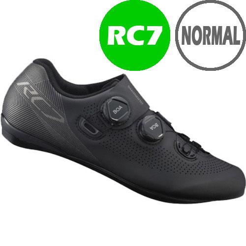 【SALE】シマノ RC7(SH-RC701) ブラック ノーマルタイプ SPD-SL シューズ BOA