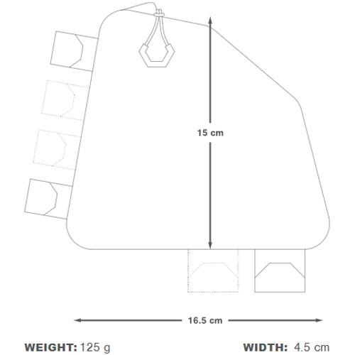 アピデュラ バックカントリー リアトップチューブバッグ 1L