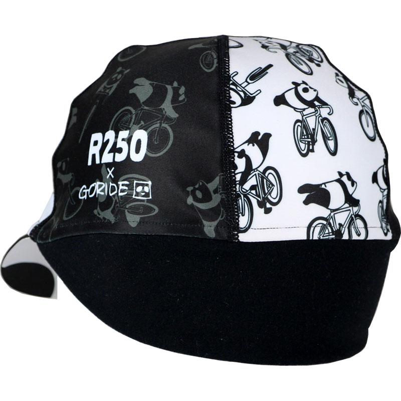 【特急】【M便】R250 GORIDE 耳付きサイクルキャップ スーパーマンパンダ R250CAP