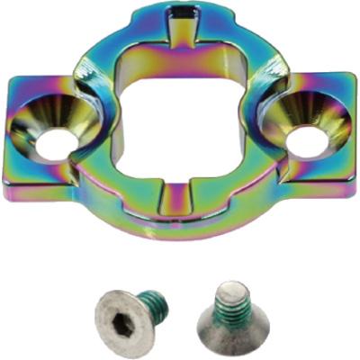 レックマウント 400-GMUT-OL 400規格 下部アダプター 限定オイルスリックカラー