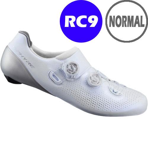 【特急】シマノ RC9(SH-RC901) ホワイト ノーマルタイプ SPD-SL シューズ BOA