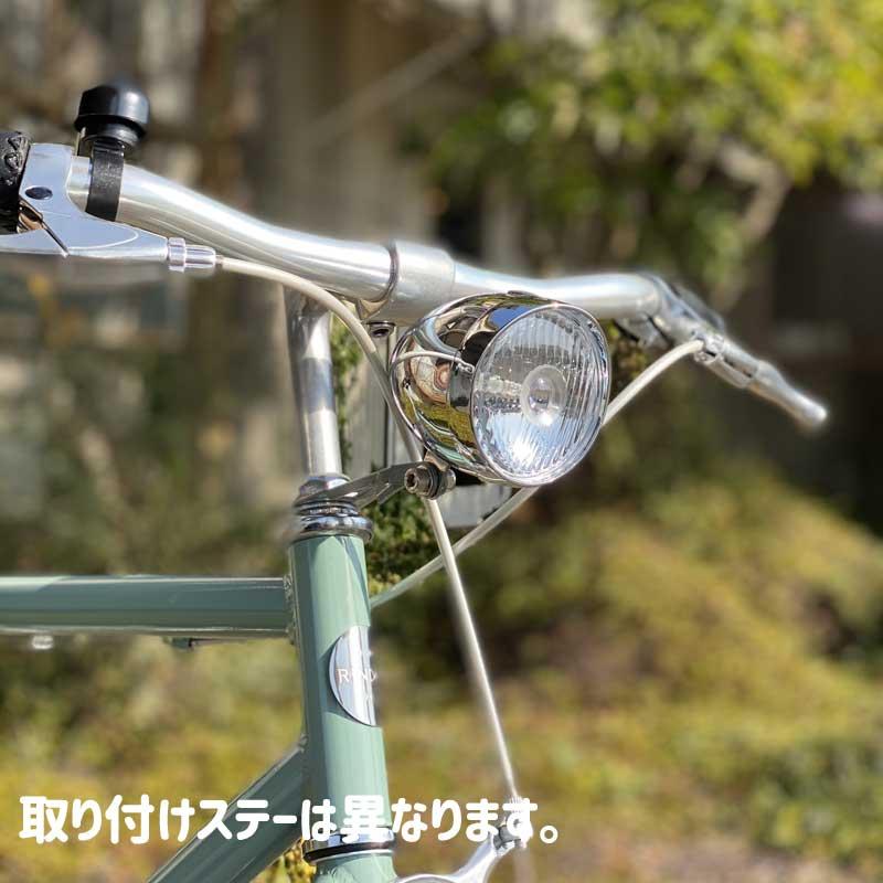 【特急】バレットビンテージライト Chromeメッキ砲弾型ライト