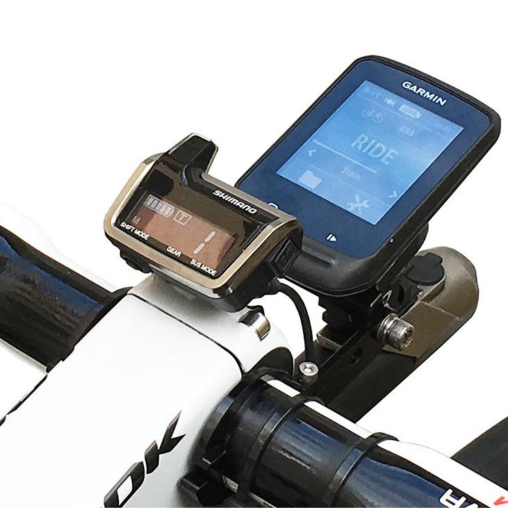 【M便】レックマウント DI2-M9050 シマノ XTR DI2 システムインフォメーションディスプレイ用マウント