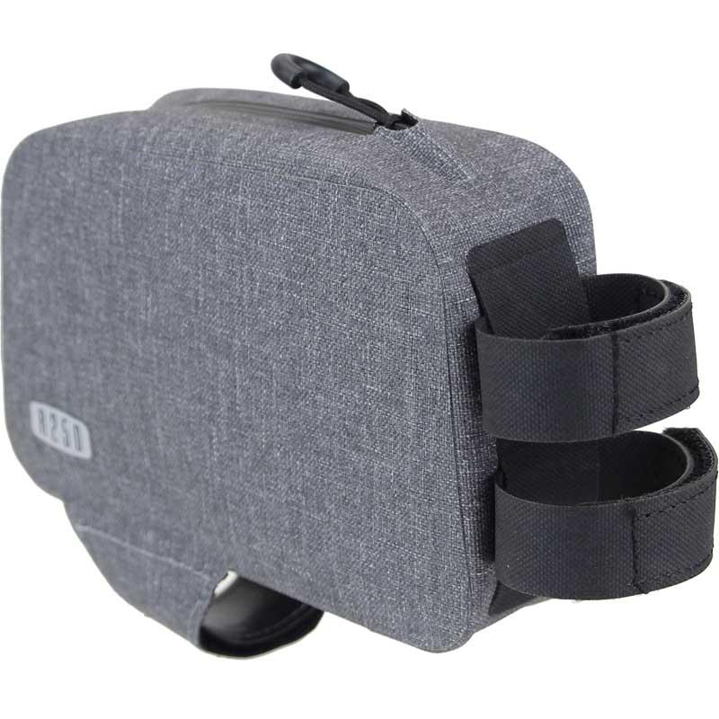 【特急】R250 防水トップチューブバッグ ショート グレー