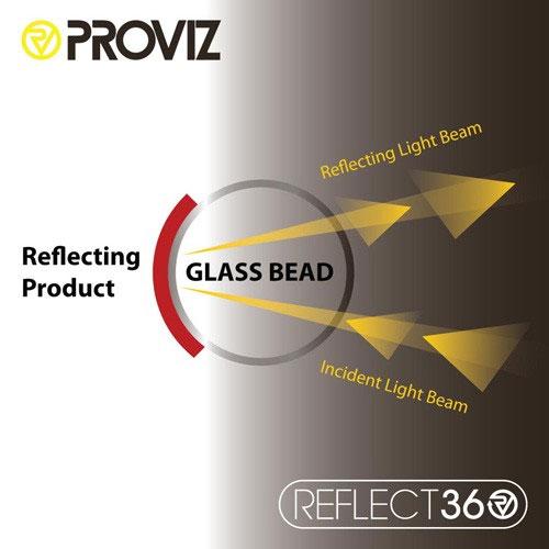 プロビズ REFLECT360-CRS 全面リフレクター ジャケット グリーン