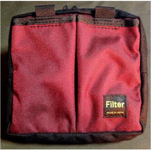 Filter BD-1(Birdy) フレームカバー ツールポーチ ワインレッド/ブラック